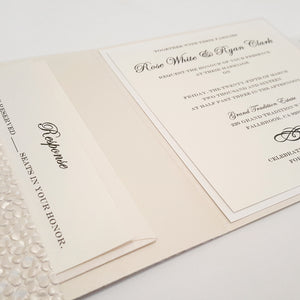 Couture Pocketfold Invitation