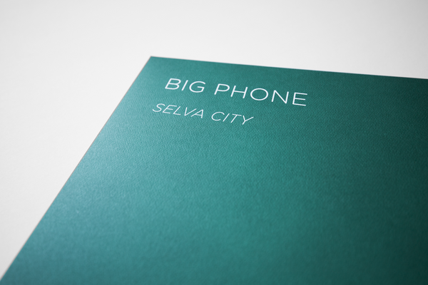 Big Phone • Selva City 2xLP + download