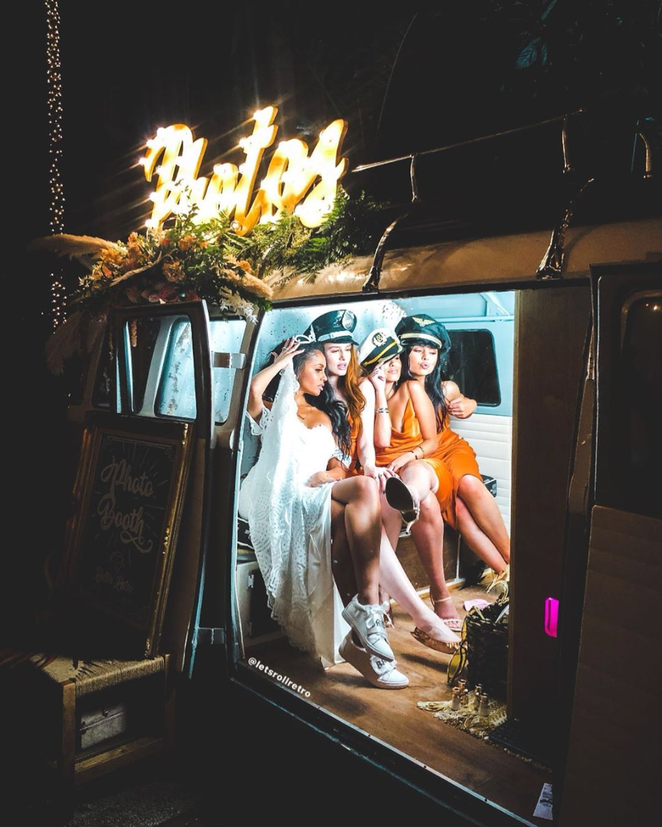 vintage VW bus photobooth