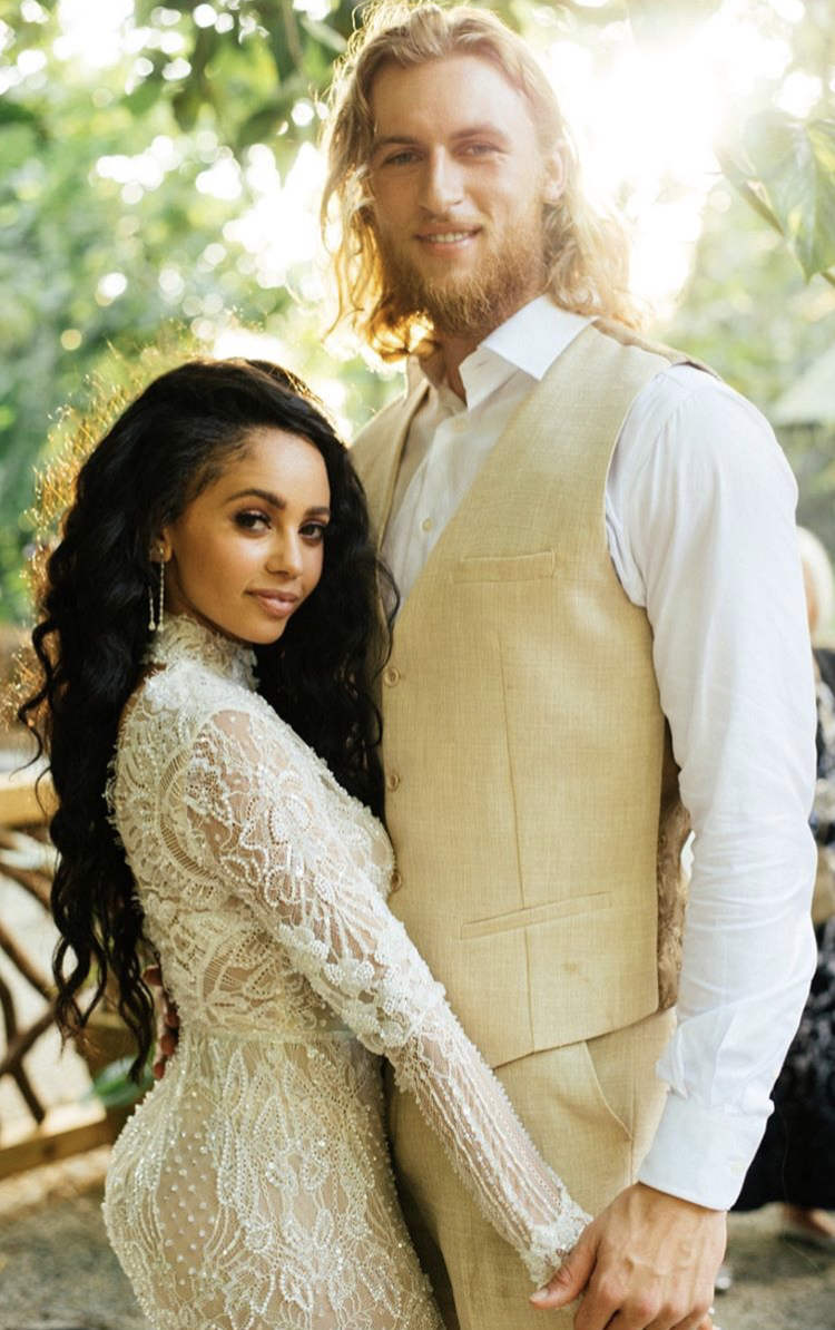 riverdale's vanessa morgan and Michael Kopech wedding