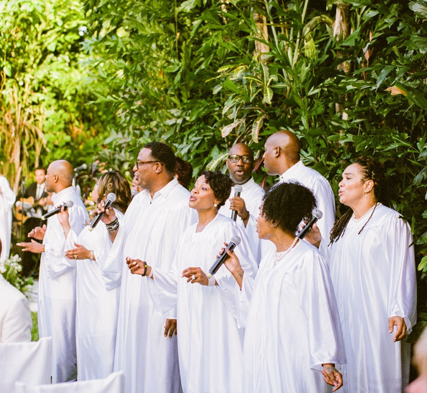 gospel chorus for wedding