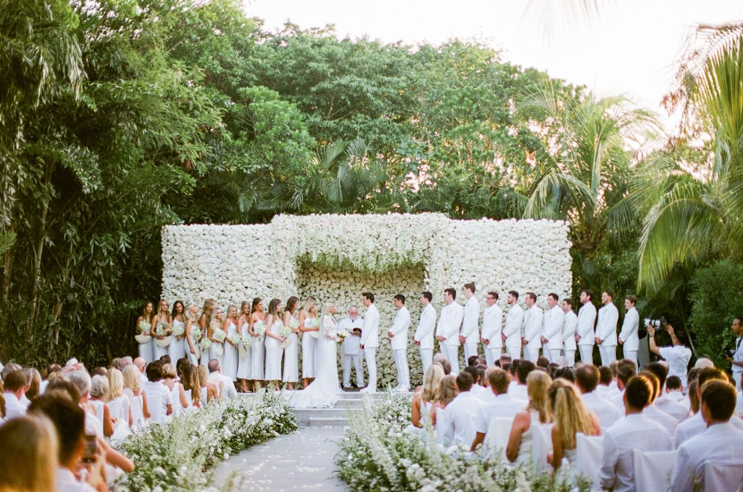 Taylor and Tomas destination wedding in Rosewood Mayakoba