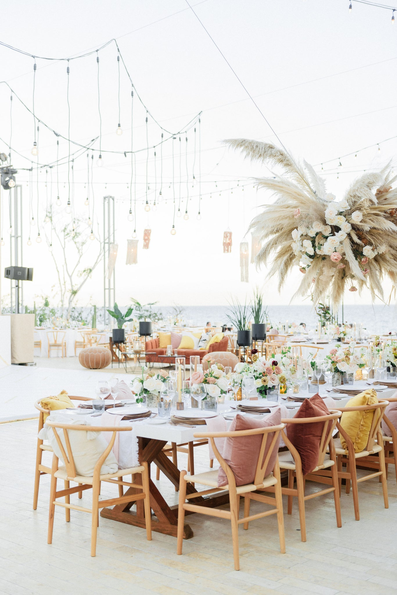 boho chic wedding in Cabo