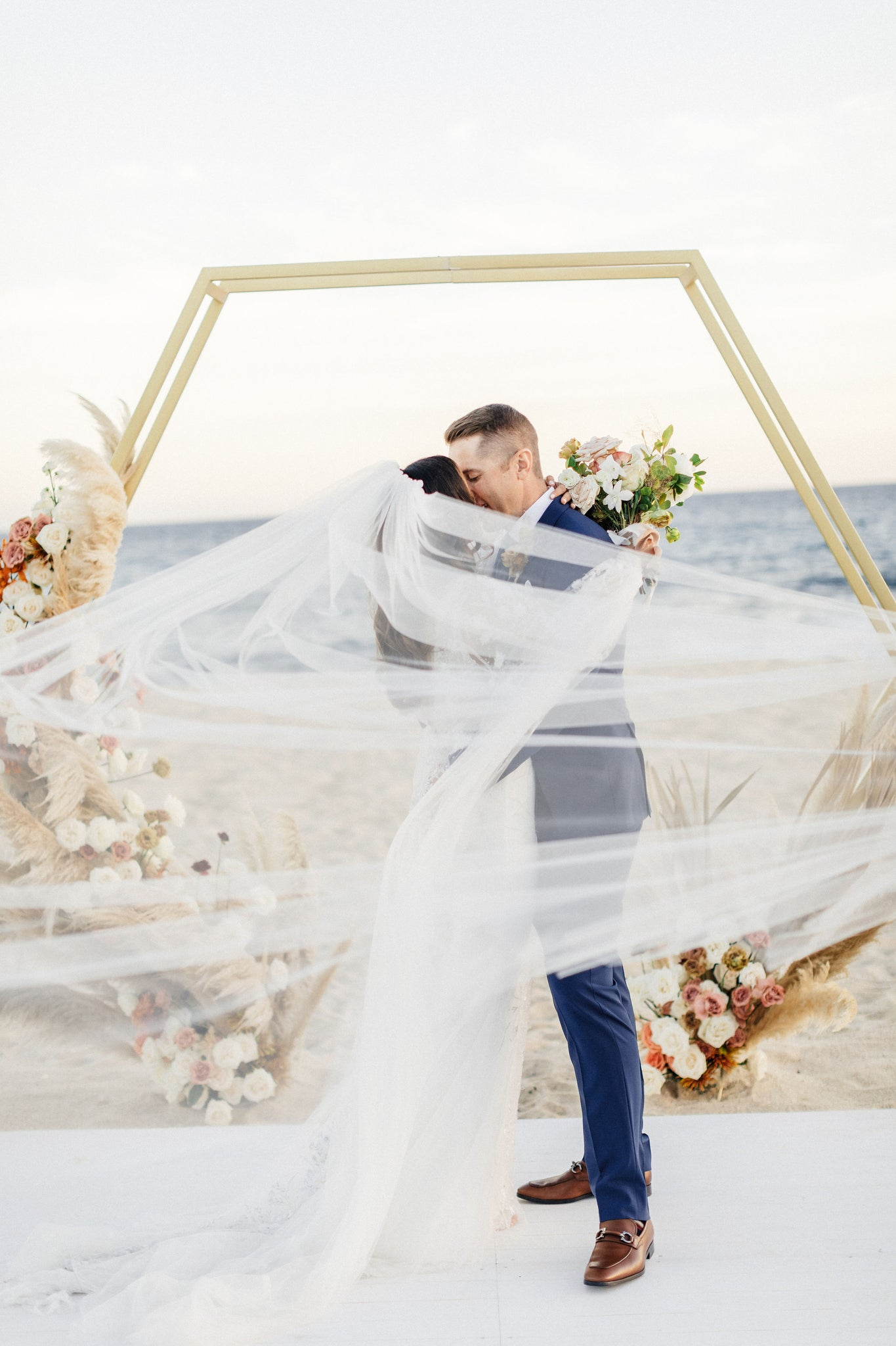 Beach destination wedding in Solaz, Los Cabos, Mexico.