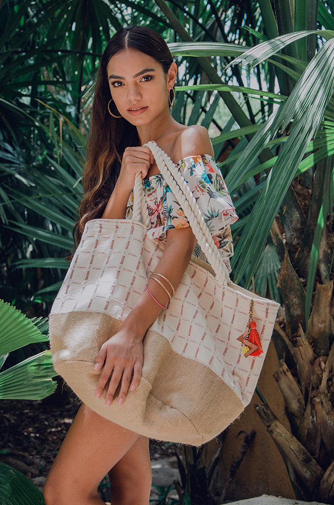 sayulita weekend tote