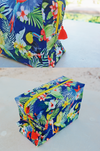 tropical personalized toiletry bag