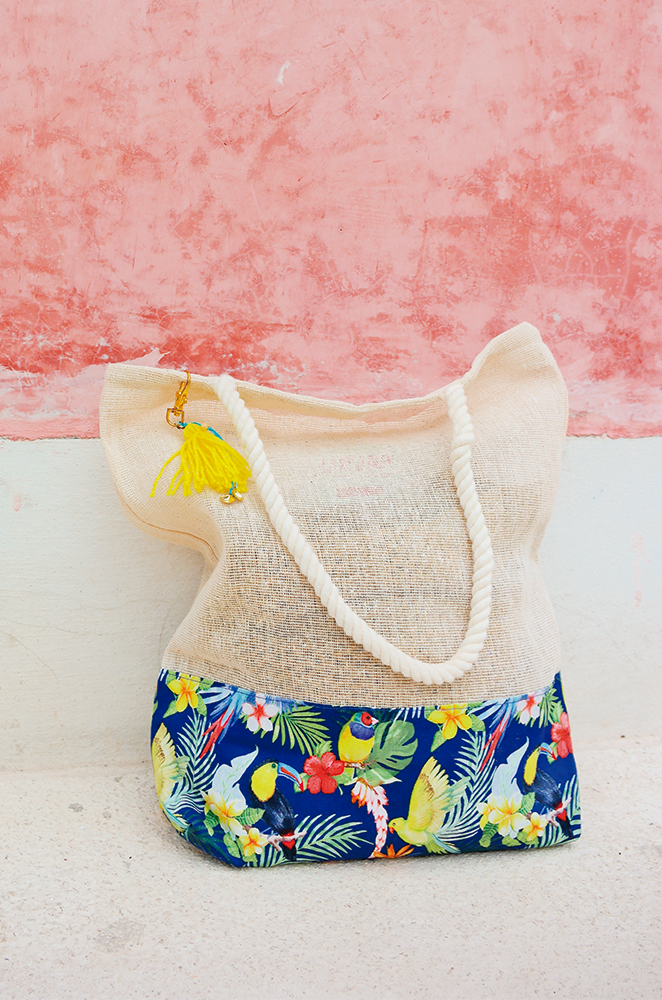 tropical wedding welcome bags