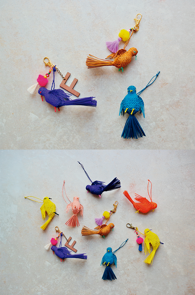personalized bird keychains