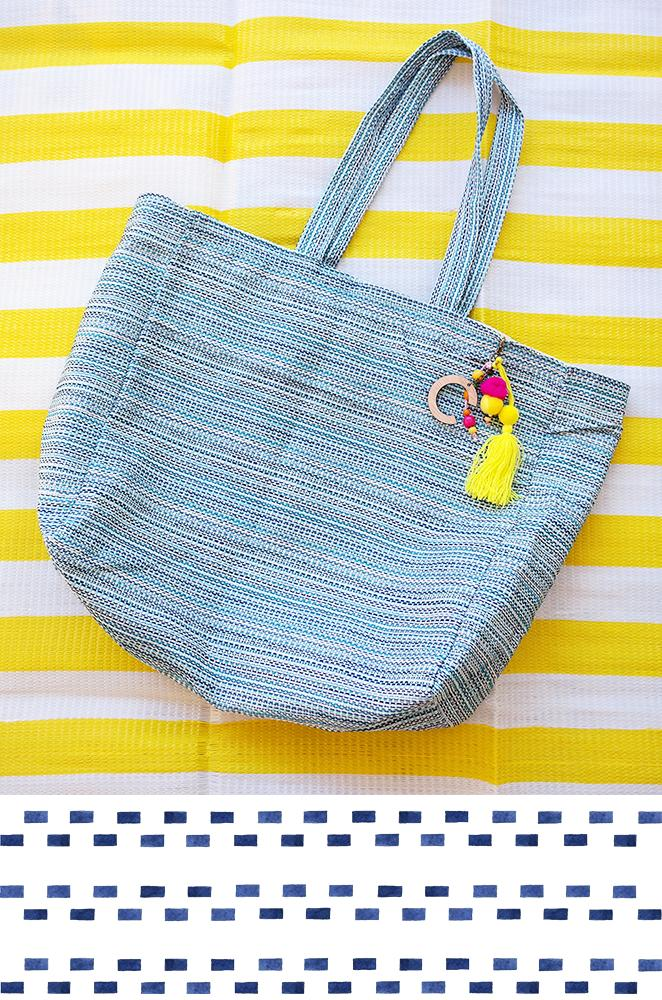Laguna oversized beach tote