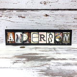 Custom LAST NAME Wood Sign - Wedding, Anniversary, Birthday, Home Decor