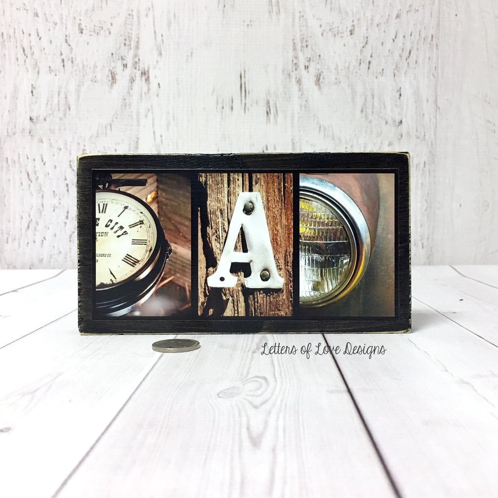 Father's Day Gift, Dad Gifts for Dad, Dad Wood Sign, Masculine Gifts