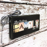Personalized Ornament - Christmas Ornament, Wedding Gift Ornament, Family Name Ornament
