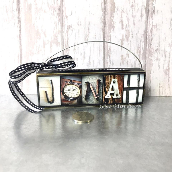 Name Ornament - Custom Child Gift - Christmas & Birthday