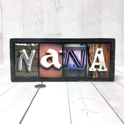Nana Wood Sign, Mother's Day Gift, Nana Gifts for Nana Grandma