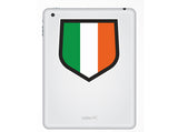 2 x Ireland Flag Vinyl Stickers Travel Luggage #10032