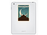 2 x Ramadan Kareem Vinyl Stickers Travel Luggage #10054