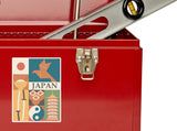 2 x Japan Vinyl Stickers Travel Luggage #10105