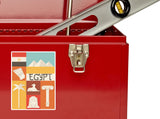 2 x Egypt Vinyl Stickers Travel Luggage #10120