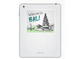 2 x Welcome to Bali Vinyl Stickers Travel Luggage #10125