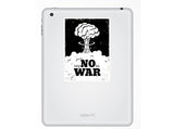 2 x Say No To War Vinyl Stickers Travel Luggage #10142