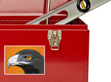 2 x Hawk Vinyl Stickers Travel Luggage #10162