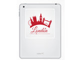 2 x London UK Vinyl Stickers Travel Luggage #10176