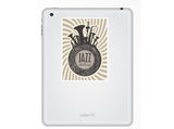 2 x Jazz Festival Vinyl Stickers Travel Luggage #10230