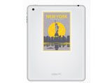 2 x New York Vinyl Stickers Travel Luggage #10237