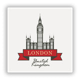 2 x London England UK Vinyl Stickers Travel Luggage #10238