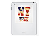 2 x New York Vinyl Stickers Travel Luggage #10289