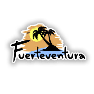 2 x Fuerteventura Vinyl Stickers Travel Luggage #10308
