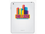 2 x Holland Skyline Vinyl Stickers Travel Luggage #10317