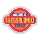 2 x Welcome to Thessaloniki Vinyl Stickers Travel Luggage #10338