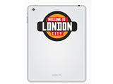 2 x Welcome to London Vinyl Stickers Travel Luggage #10340