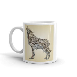 Wolf High Quality 10oz Coffee Tea Mug #10593