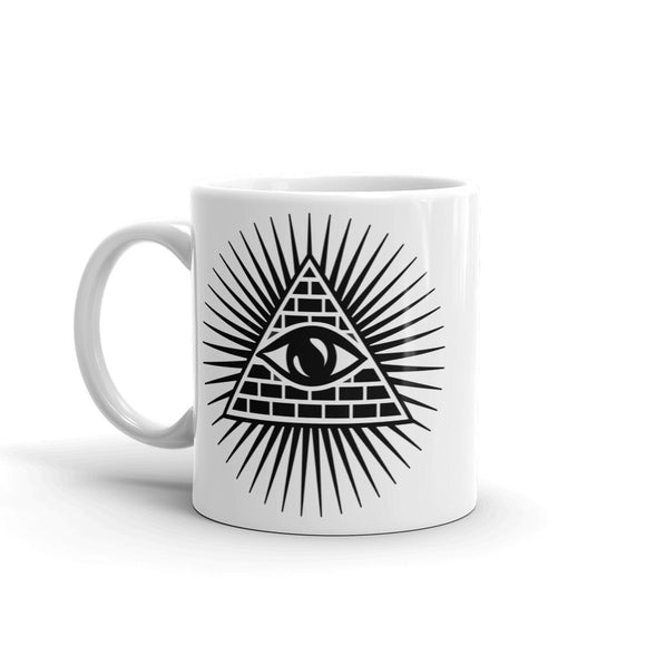 All Seeing Eye High Quality 10oz Coffee Tea Mug #10677
