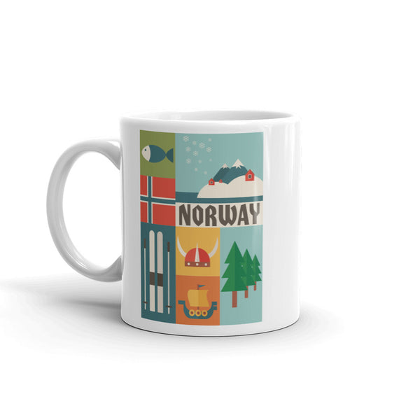 Norway High Quality 10oz Coffee Tea Mug #10769