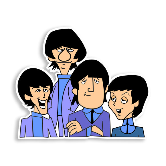 2 x The Beatles Printed Vinyl Stickers Laptop iPhone iPad #10828L