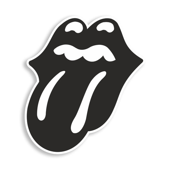 2 x The Rolling Stones Printed Vinyl Stickers Laptop iPhone iPad #10829L