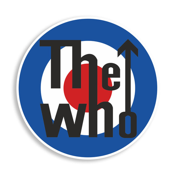 2 x The Who Printed Vinyl Stickers Laptop iPhone iPad #10830L