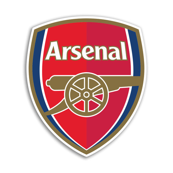 x Arsenal Football Vinyl Stickers Premier League #10852L