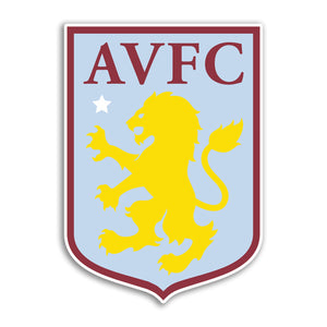 x Aston Villa Football Vinyl Stickers Premier League #10853L