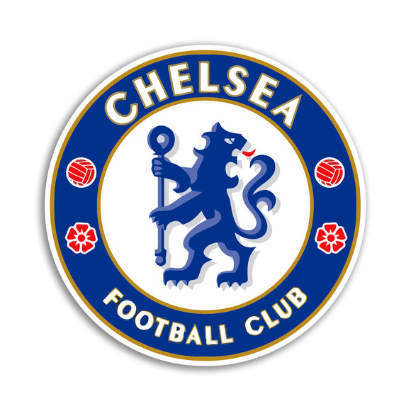 x Chelsea Football Club Vinyl Stickers Premier League #10854L