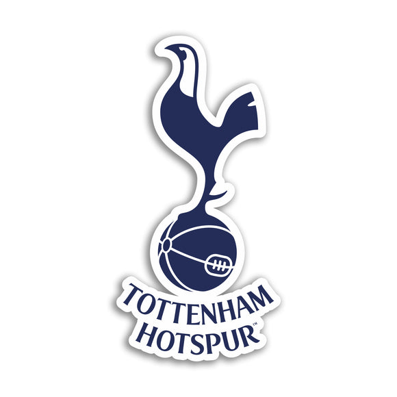 2 x Tottenham Hotspurs Football Club Vinyl Stickers Premier League #10864L