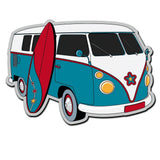 2 x Camper Van VW Surf Surfing Vinyl Sticker #4017