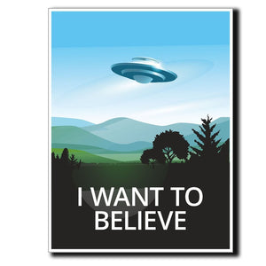 2 x UFO Alien X-Files Area 51 Vinyl Sticker #4057