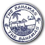 2 x The Bahamas Vinyl Sticker #4066