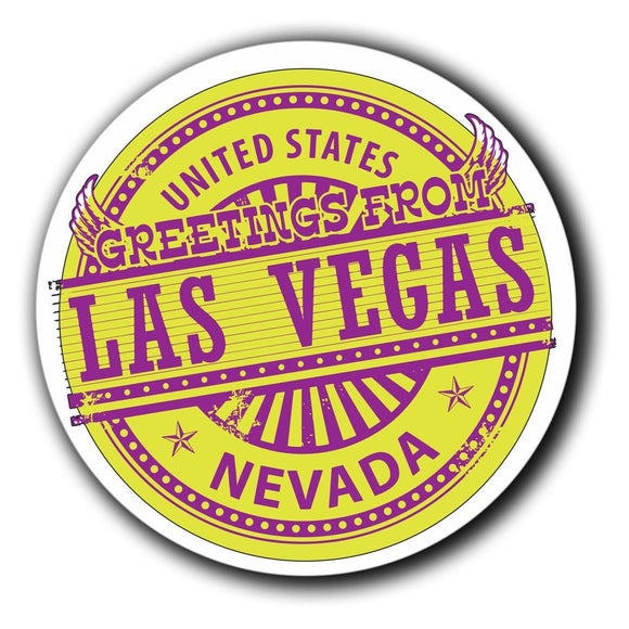 2 x Las Vegas USA Nevada Vinyl Sticker #4069