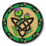 2 x Celtic Thistle Vinyl Sticker #4072