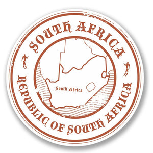 2 x South Africa Vinyl Sticker #4096